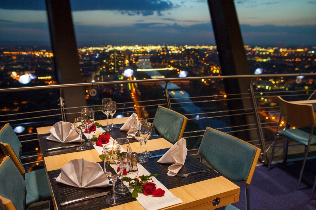 Restaurant Skyline, Mannheim - Dreh-Restaurant Skyline