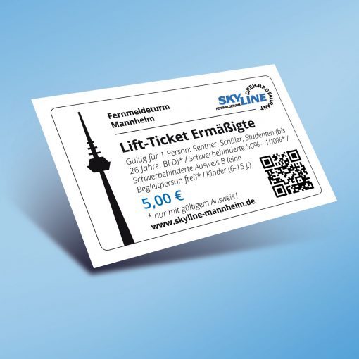 Lift-Ticket Ermäßigte